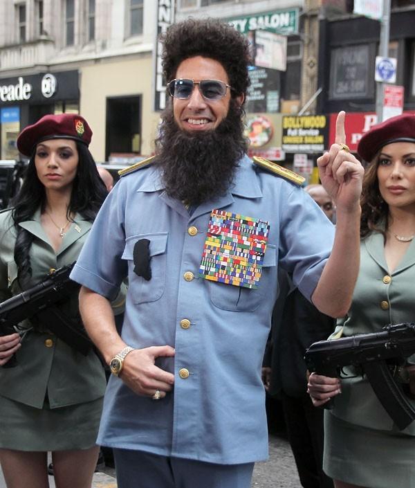 Ca c'est du look de dictateur !