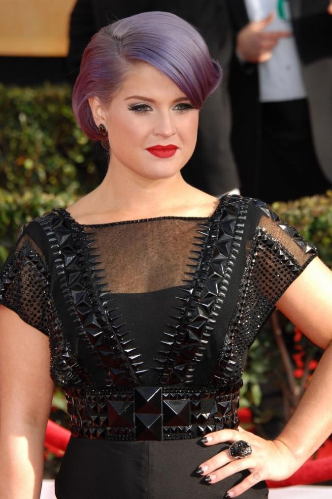 Kelly Osbourne lors des SAG Awards à Los Angeles, le 27 janvier 2013.