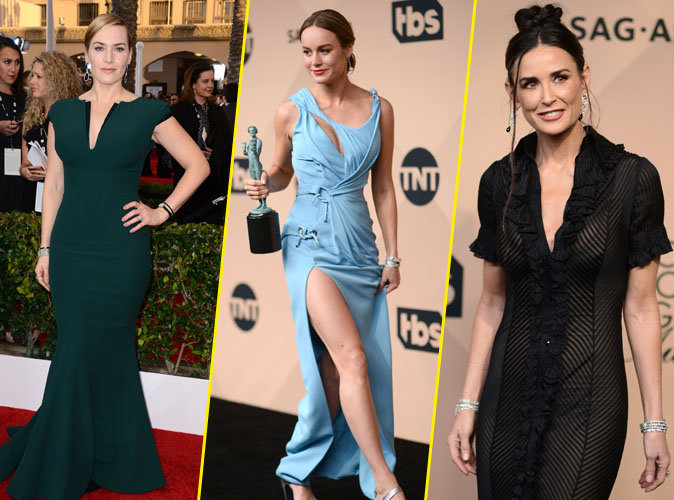 SAG Awards 2016 : Kate Winslet, Brie Larsen, Demi Moore... La féminité à l'honneur !
