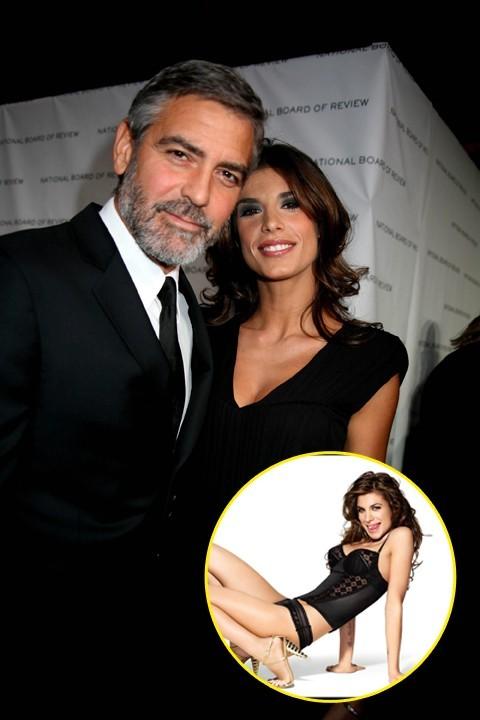 Elisabetta Canalis : un ensemble lingerie sexy La belle Italienne a réussi à attraper l'insaisissable George Clooney dans