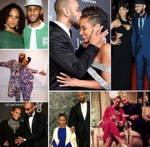 """Alicia Keys et Swizz Beats : """"L'amour de ma vie. Chaque jour est la Saint-Valentin avec toi"""""""