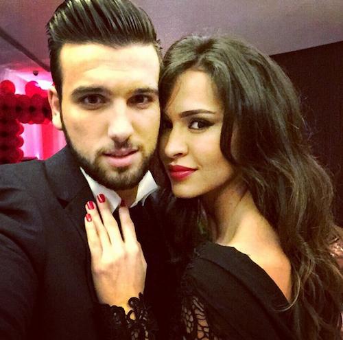 """Leila et Aymeric : """"Retour de notre soirée en amoureux pour la Saint Valentin ... Comment était la votre ??"""""""