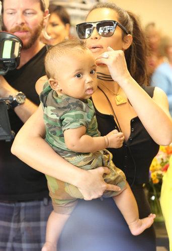 Photos : Saint West : quand le divin enfant est de sortie...
