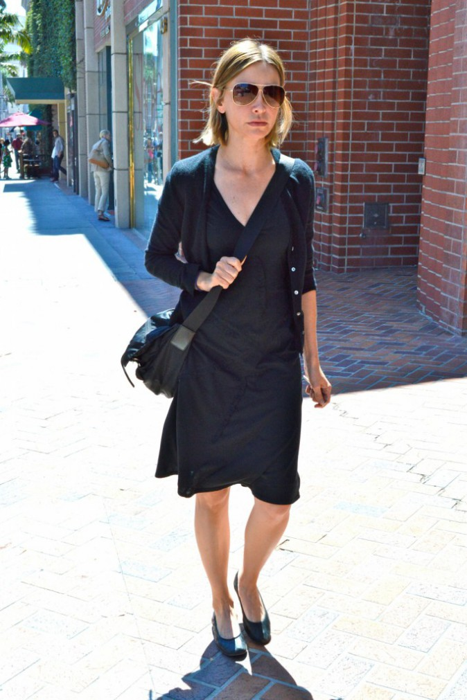 Calista Flockhart à Beverly Hills, Los Angeles, le 3 septembre 2013