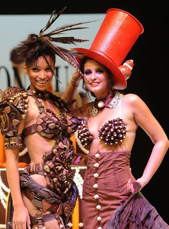 Les deux ex-Miss France, complices !