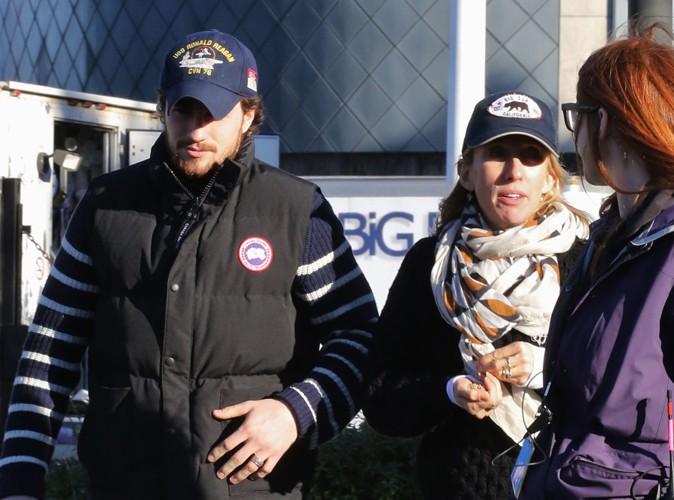 Aaron Taylor-Johnson et Sam Taylor-Wood à Vancouver le 18 décembre 2013
