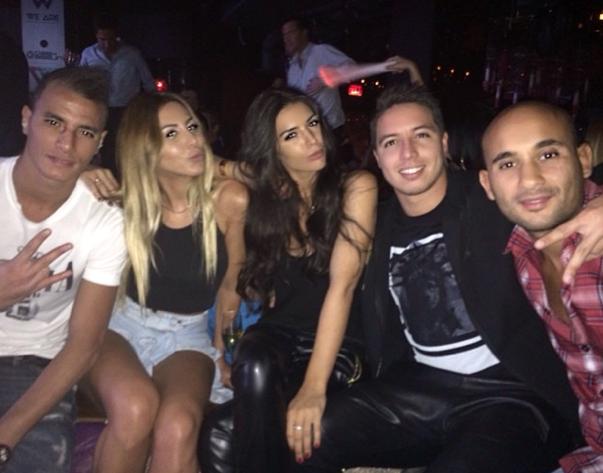 Photos : Samir Nasri : pendant que Ribéry s'enfume, il roucoule à Vegas !