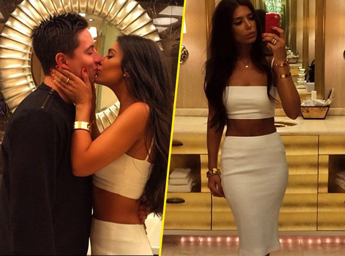 Photos : Samir Nasri : sa girlfriend s'affiche bombesque pour son anniversaire !