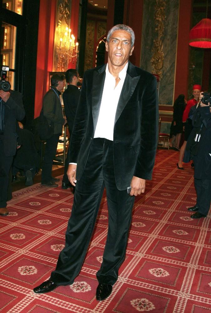 Samy Naceri à Deauville, en 2005