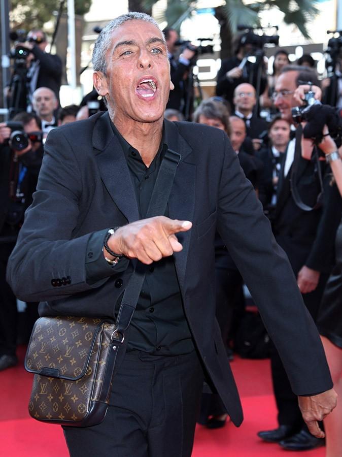 Samy Naceri était présent au Festival de Cannes 2011