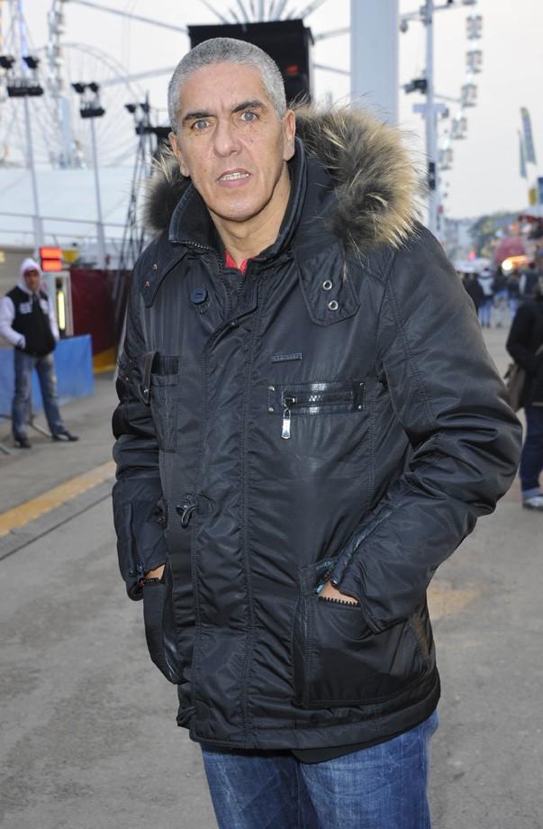 Samy Naceri à la Foire du Trône de Paris le 29 mars 2013