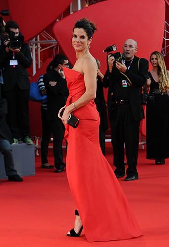 Sandra Bullock à Venise le 28 août 2013