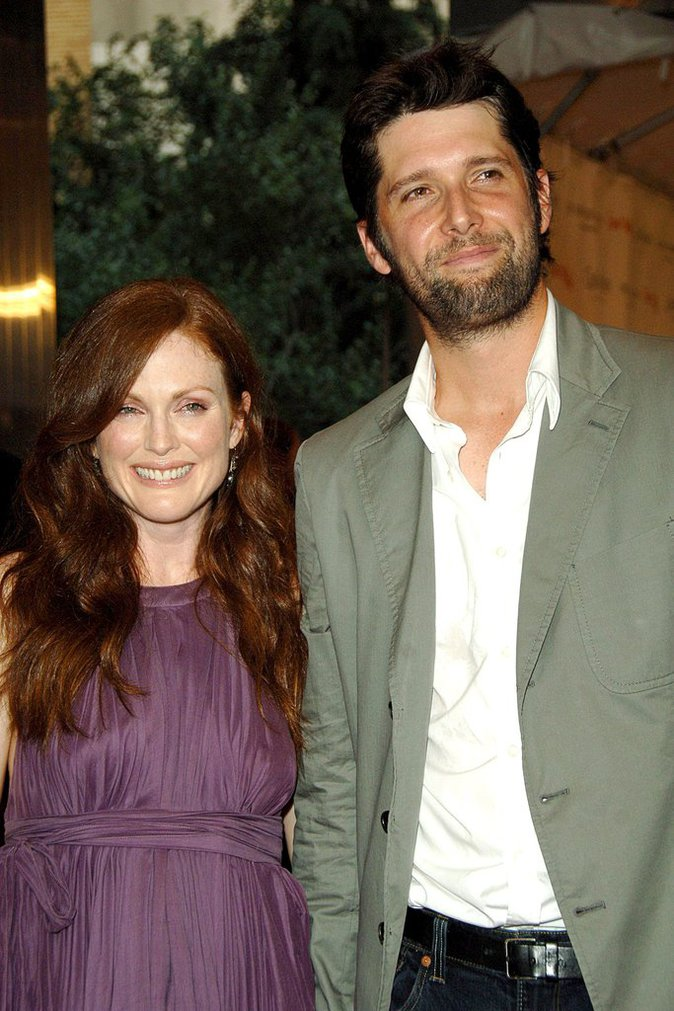 Julianne Moore et son mari