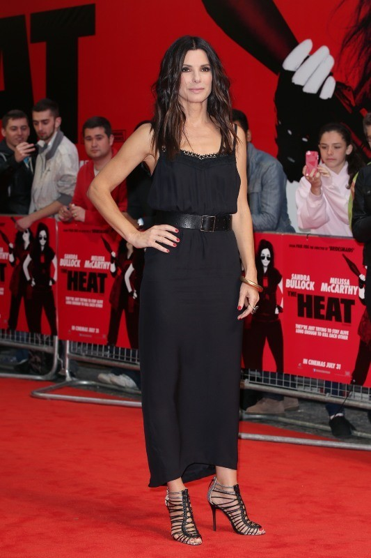 Sandra Bullock présente son dernier film à Londres, le 13 juin 2013