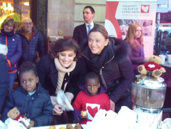 Photos : Sandrine Quétier et Inès de la Fressange : marraines de cœur et engagées !
