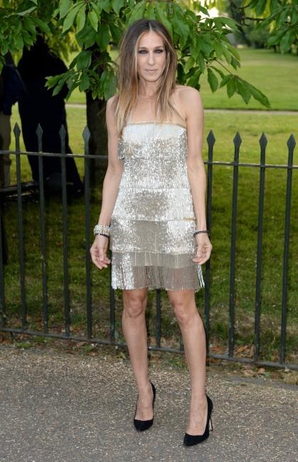 """Sarah Jessica Parker et Matthew Broderick lors de la soirée """"Serpentine Gallery Summer Party"""" à Londres, le 26 juin 2013."""