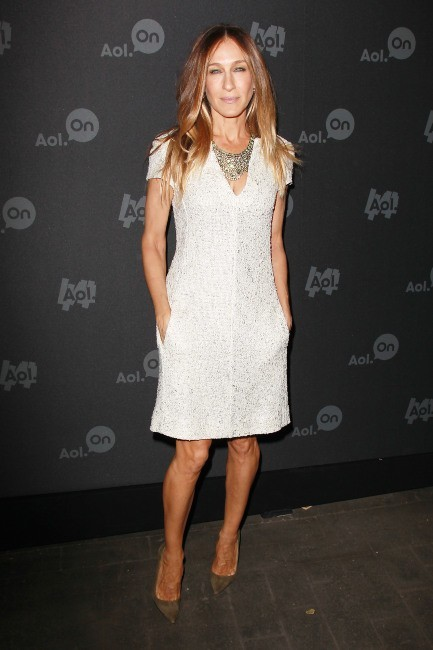 Sarah Jessica Parker lors de la soirée AOL Digital Content NewFront à New york, le 1er mai 2013.