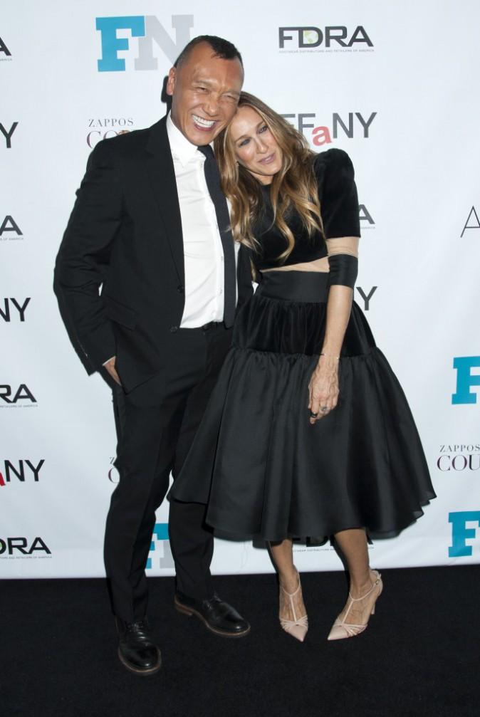 Sarah Jessica Parker et Joe Zee le 3 décembre 2014