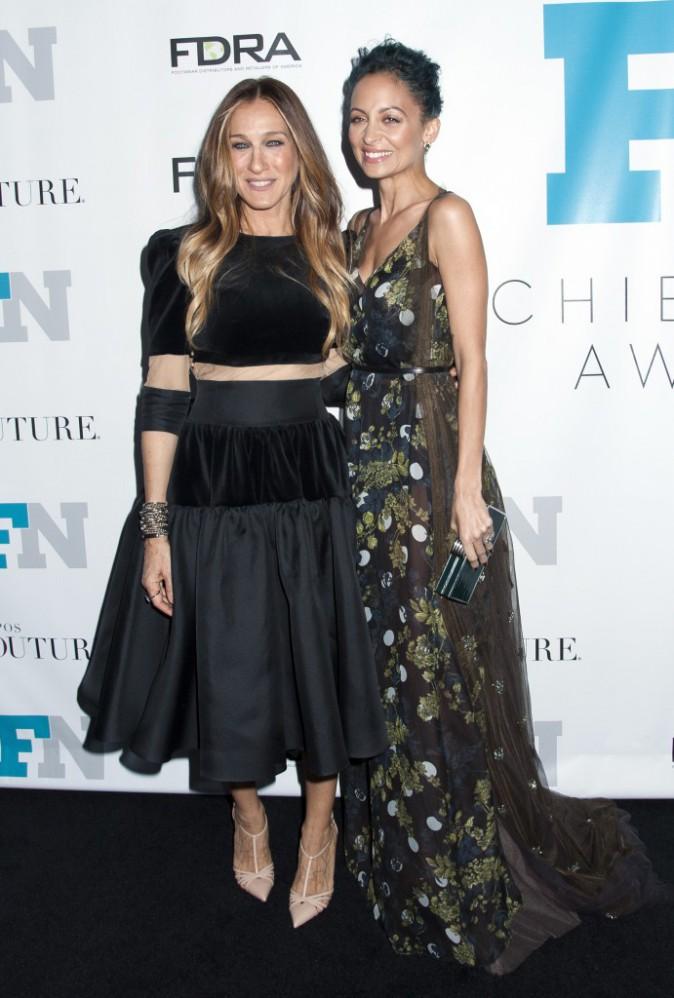 Sarah Jessica Parker et Nicole Richie le 3 décembre 2014