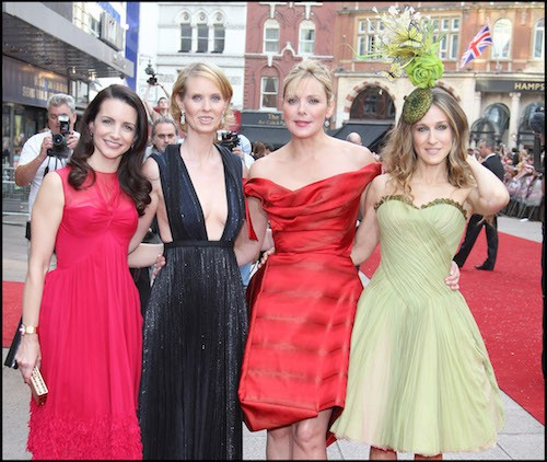 Lors de la première mondiale de Sex and the City à Londres, en 2008