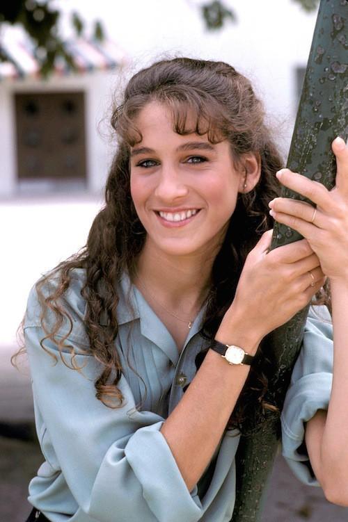 Mademoiselle bouclette en 1982!