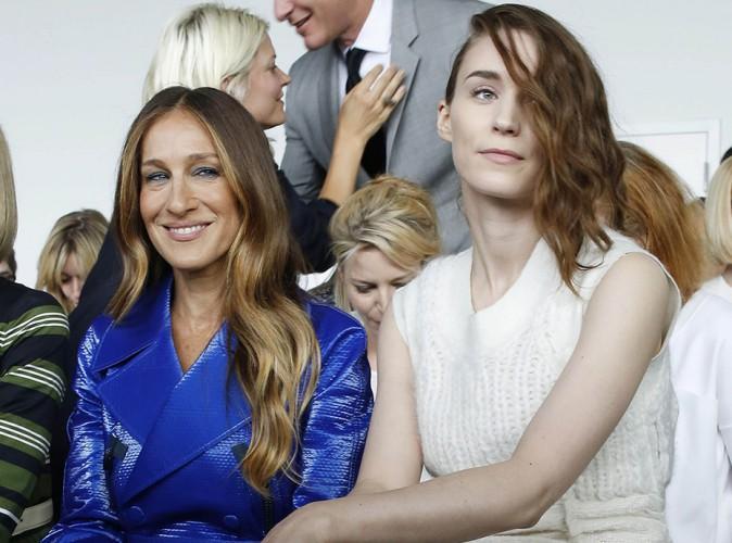Sarah Jessica Parker et Rooney Mara à New York le 11 septembre 2014