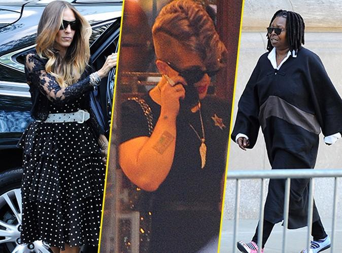 Sarah Jessica Parker, Kelly Osbourne, Whoopi Goldberg : toutes présentes aux funérailles de Joan Rivers !