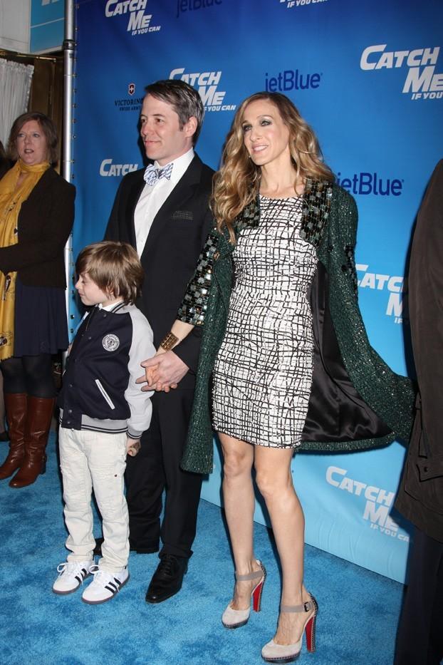 Elle a gardé l'allure de Carrie, la maternité en plus !