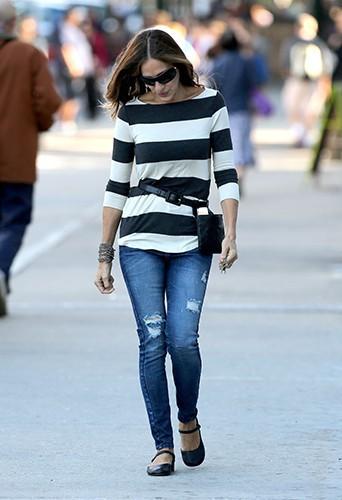 Sarah Jessica Parker à New York le 17 septembre 2014