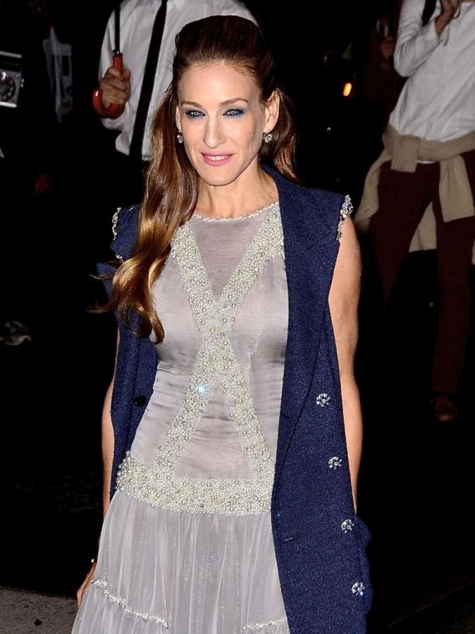 Sarah Jessica Parker lors de la soirée Museum of Modern Art Film benefit à New York, le 15 novembre 2011.
