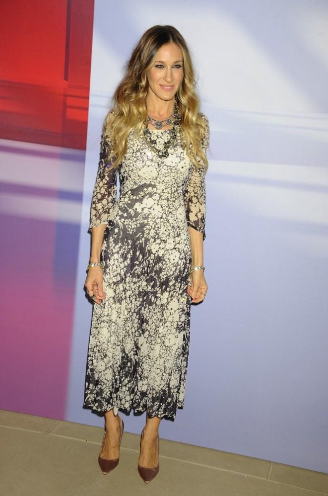 Sarah Jessica Parker lors de la soirée Valentino à New York, le 7 décembre 2011.