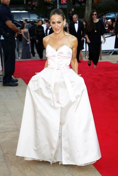 Sarah Jessica Parker lors du gala du New York City Ballet, le 19 septembre 2013.