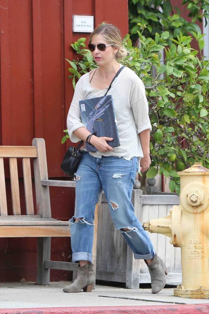 """Sarah Michelle Gellar : elle se trouve trop vieille pour jouer dans un film """"Buffy contre les vampires"""" !"""