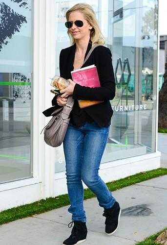 Photos : Sarah Michelle Gellar : journée détente en solo pour l'actrice !