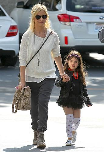 Sarah Michelle Gellar et sa fille Charlotte à Los Angeles le 22 mars 2014