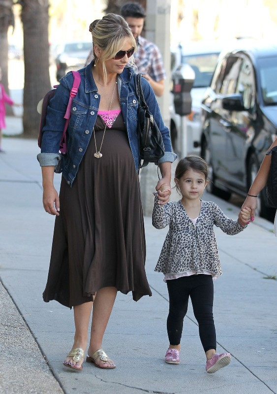 Sarah Michelle Gellar et sa fille Charlotte, Beverly Hills, 14 septembre 2012.
