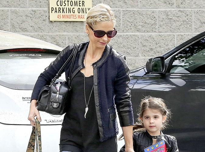 Sarah Michelle Gellar et sa fille Charlotte à Los Angeles le 16 novembre 2013