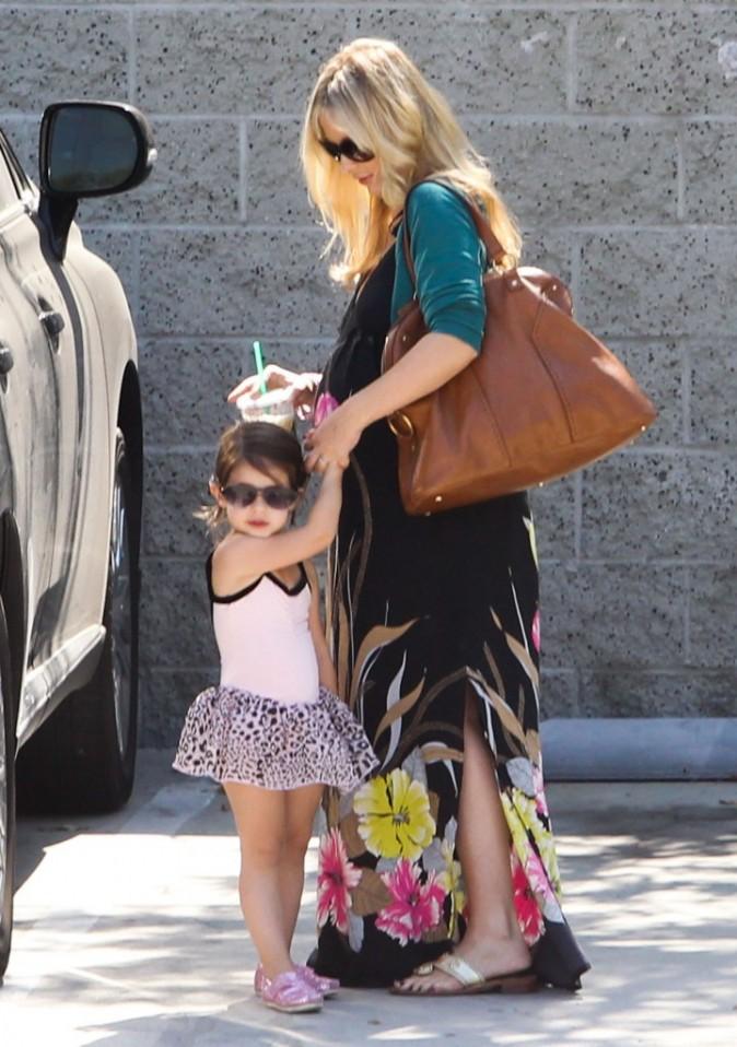 Sarah Michelle Gellar et sa fille Charlotte, Studio City, 18 août 2012.