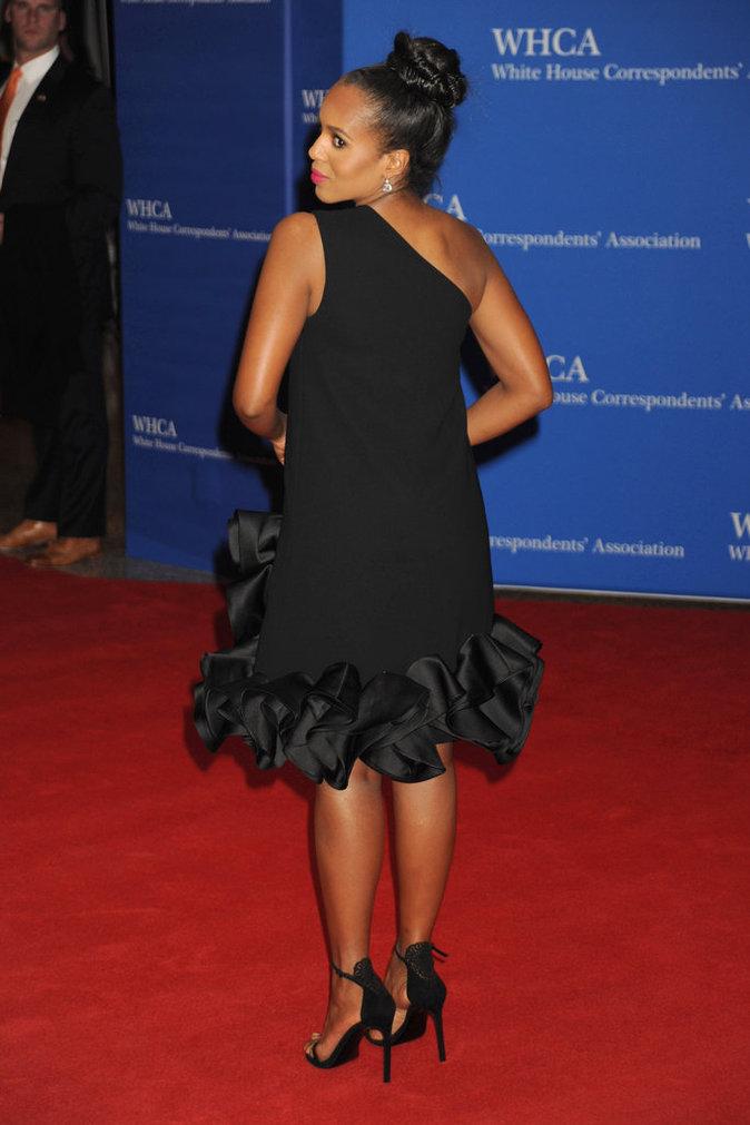 Photos : Scandale : Kerry Washington est enceinte et ça ne se voit pas du tout !
