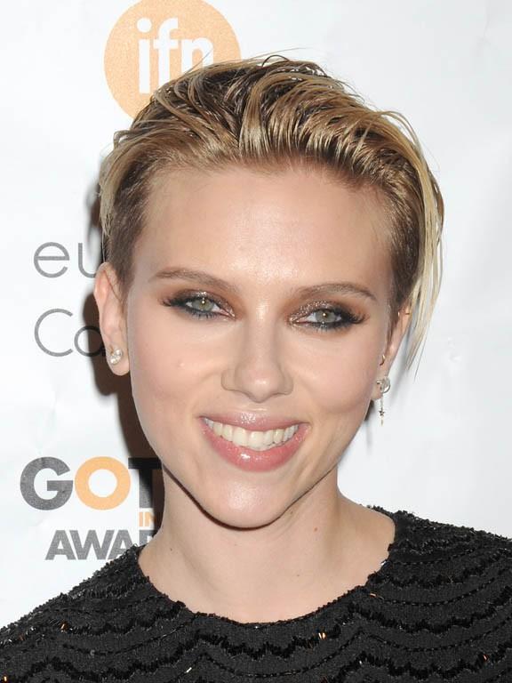 Scarlett Johansson aux Gotham Independent Film Awards organisés à New-York le 1er décembre 2014