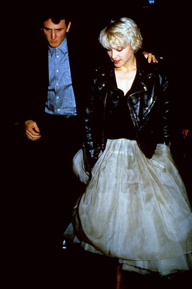 Entre le rebelle et Madonna, ça n'a duré que quatre ans...