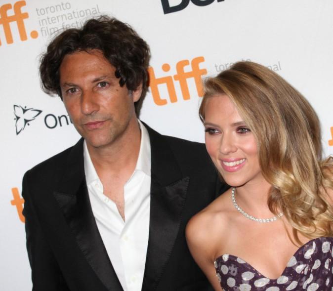 Scarlett Johansson et Jonathan Glazer lors du Festival International du Film de Toronto, le 9 septembre 2013.