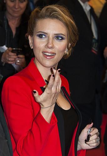 Scarlett Johansson à Paris le 17 mars 2014