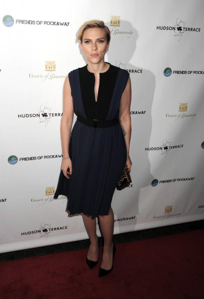 Scarlett Johansson à New York le 18 novembre 2014