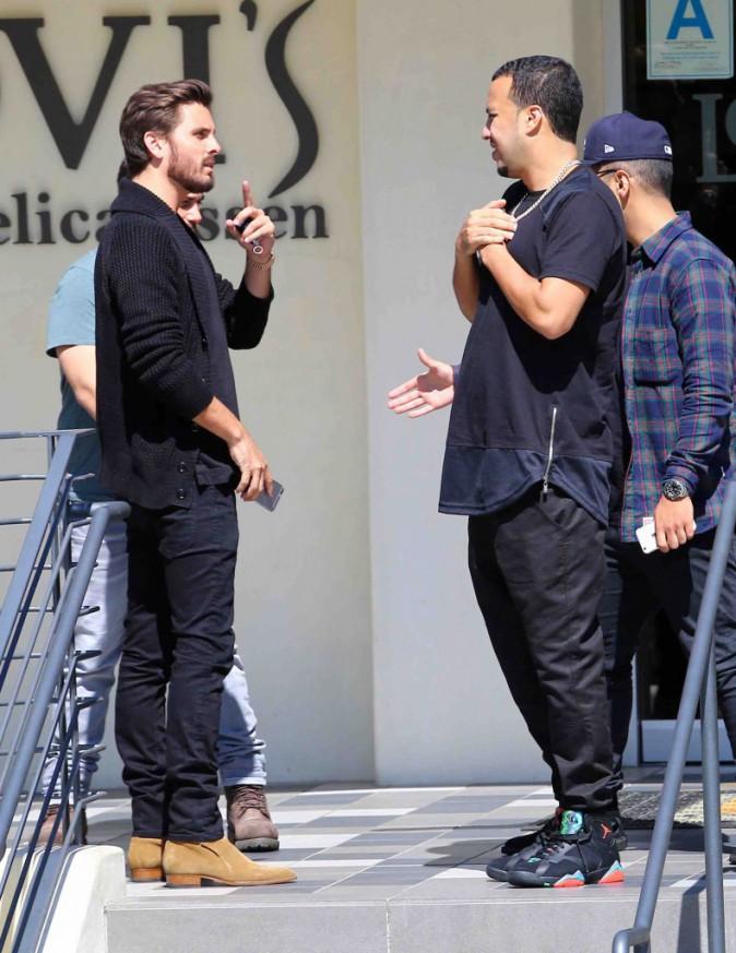 Scott Disick et French Montana : Kourtney et Khloé qui ? Ils préfèrent déjeuner entre mecs !