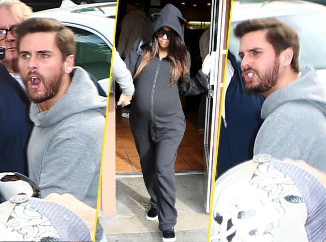 Kourtney Kardashian et Scott Disick le 10 décembre 2014