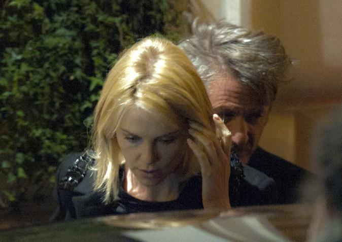 Sean Penn et Charlize Theron à Rome le 14 février 2015