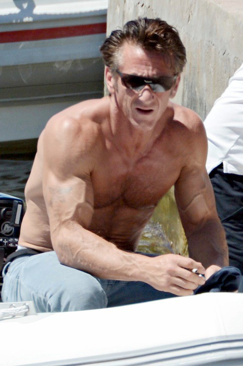Sean Penn Bodybuilding