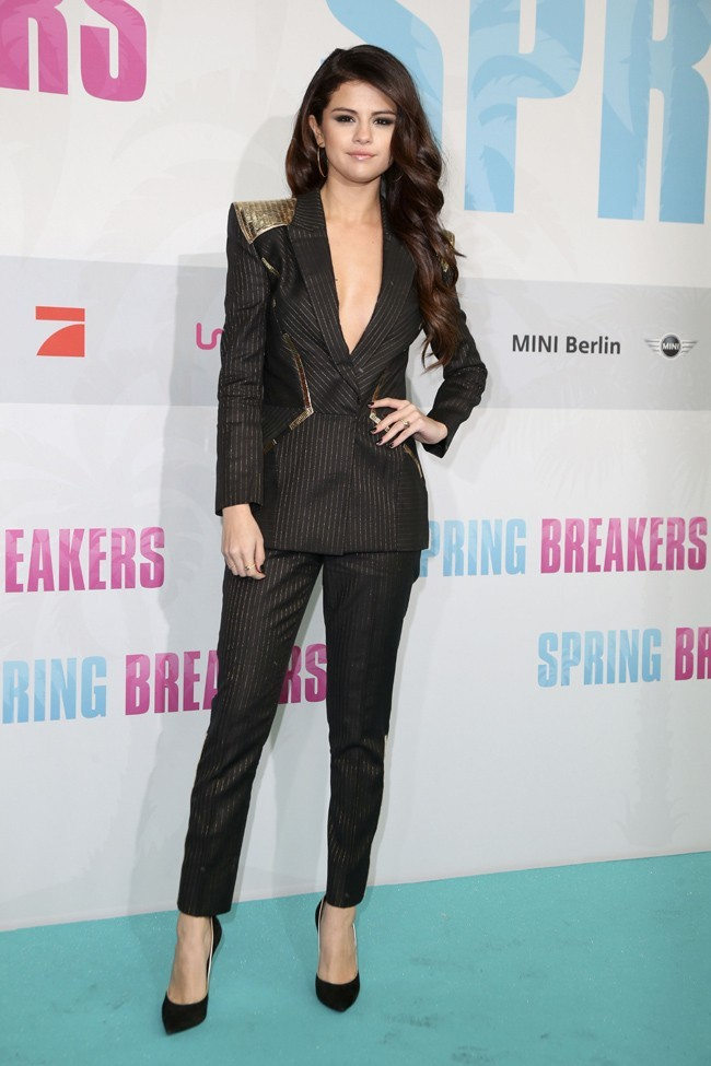 Selena Gomez à l'avant-première de Spring Breakers à Berlin le 19 février 2013