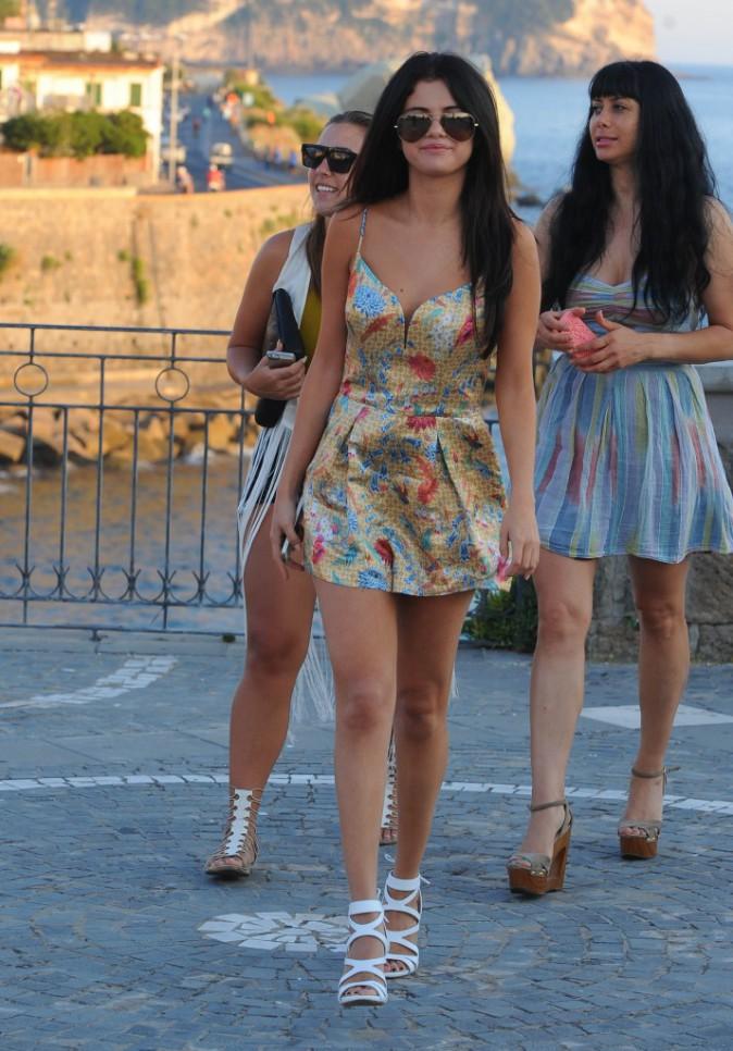 Selena Gomez à Ischia